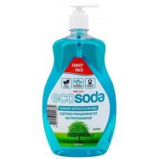 Бальзам для мытья посуды и детских принадлежностей EcoSoda, 1 л