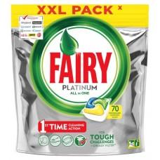 Капсулы для посудомоечной машины «Platinum All in One» Fairy, 70 шт