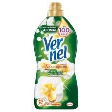 Кондиционер для белья «Белый Пион и Масло Хлопка» Vernel, 1.82 л