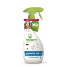 Средство для мытья окон и зеркал Synergetic, 0,5 л